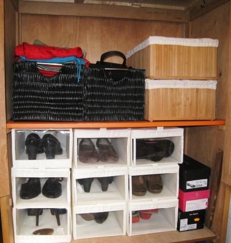 Orden en casa - Guardar bolsos en armario ...